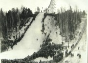 1926 Dedication meet steel slide