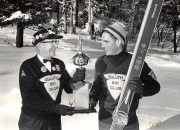 1969 Guy Olson and 1969 Ski Jump Champ Adrian Watt